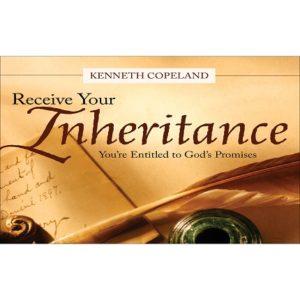 Receive Your Inheritance-4CD