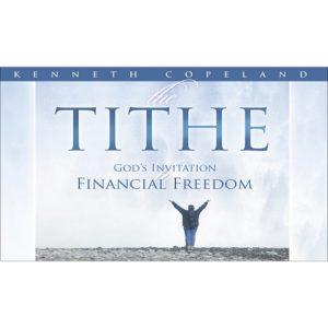 The Tithe-God's Invitation - 4CD